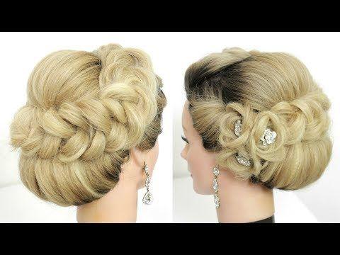 Bridal Updo Tutorial Wedding Prom Hairstyles For Long Hair Youtube Updo Tutorial Prom Hairstyles For Long Hair Long Hair Styles