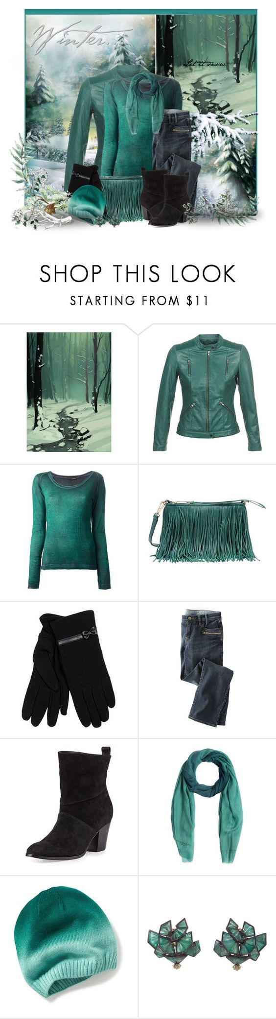 """""""Teal Love"""" by jackie22 ❤ liked on Polyvore featuring Naf Naf, Avant Toi, Rebecca Minkoff, Isotoner, Wrap, Bernardo, Burberry and Nak Armstrong"""
