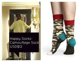 《來自星星的你》11集中的襪子 品牌 Happy Socks Urban Outfitters售價美金$12,約台幣360  點這邊購買http://www.urbanoutfitters.com/urban/catalog/productdetail.jsp?id=30824015