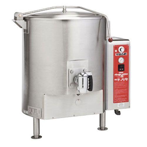 Vulcan Hart Gt150e 150 Gal Gas Stationary Kettle Stationary Kettle Stainless Steel Sinks