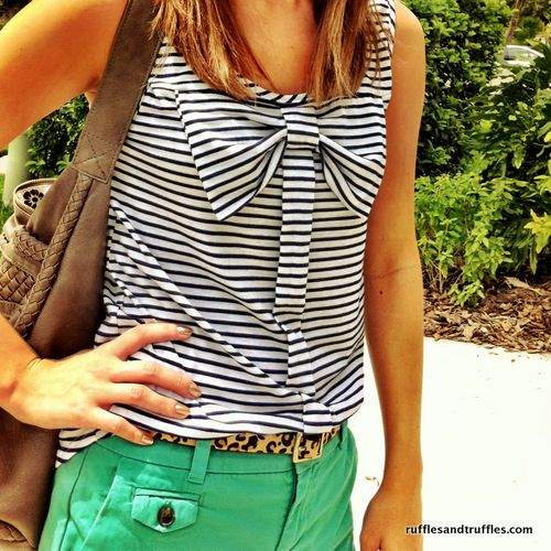 Love the shirt and colors
