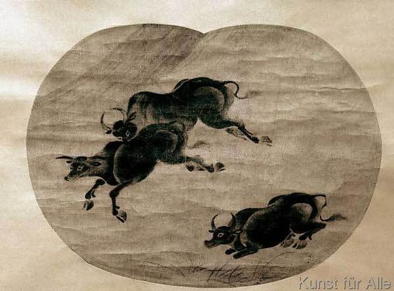 Japanisch - Ochsen