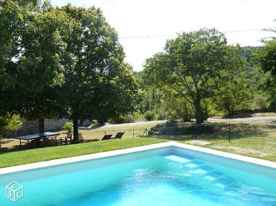Mail envoyé le 9/02/16 NON DISPO SUD ARDÈCHE grand gîte, piscine