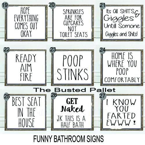 Funny Bathroom Signs Bathroom Wall Decor Kids Bathroom Bathroom Humor Toilet Sign Bathroom Si Funny Bathroom Signs Bathroom Signs Printable Bathroom Signs