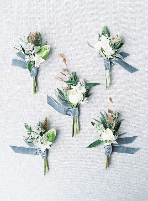 Shades of Blue for a Spring Wedding - Kim & Karen Wedding Blog