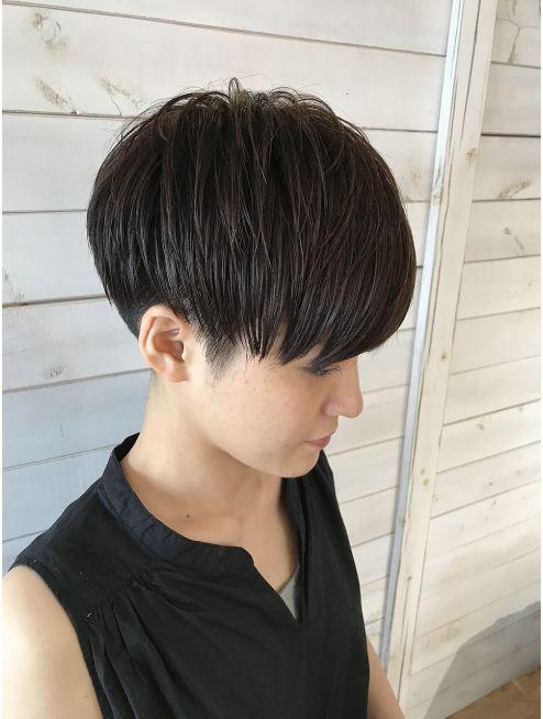 大人カッコイイモードベリーショートマッシュ L015397511 ヘアーサロン カヴィエ Hair Salon Covie のヘアカタログ ホットペッパービューティー アジア人 ショートヘア