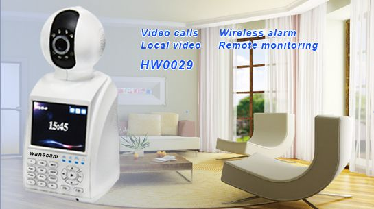 phone call network p2p wifi ip camera