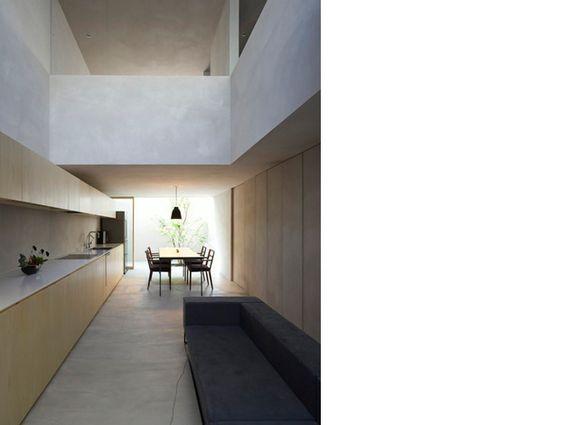 concrete House in Danbara