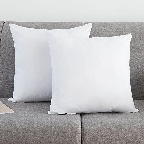 Ysther Set Of 2 Down And Feather Pillow Inserts Throw Pi Https