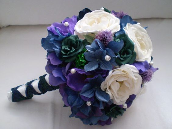 CELTIC QUEEN Wedding Bouquet on Etsy, $131.90 AUD