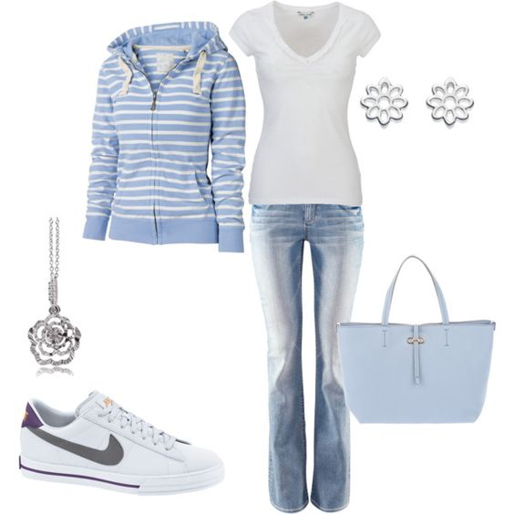 i am in LOVE with this outfit, but would wear my white/silver pumas instead of the nikes!
