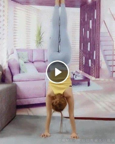 Truques ginásticos acrobáticos impossíveis