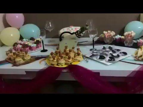 طاولة عيد الميلاد للاطفال ادخلي تاخدي افكار جديدة Youtube Table Decorations Decor Birthday Candles