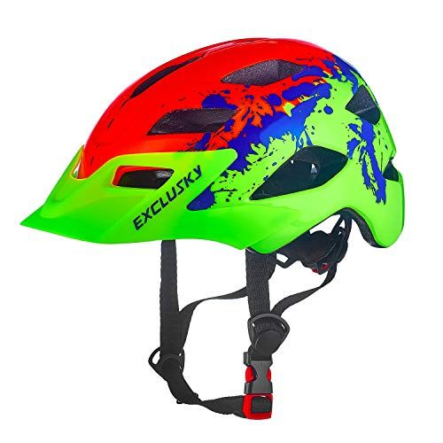 Cycling Skate Scooter Skateboard Safety Toddler Helmet Anti-Shock for Multi-Sport ASTM /& CPSC Certified Adjustable from Toddler to Youth with 3 Sizes CrzKo Kids Bike Helmet
