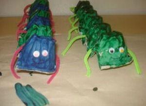 gusano hueveras