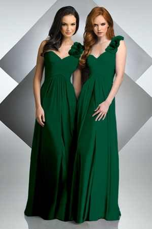 ♡ Hunter green #wedding #Bridesmaids Dresses ... For wedding ideas, plus how to organise an entire wedding, within any budget ... https://itunes.apple.com/us/app/the-gold-wedding-planner/id498112599?ls=1=8 ♥ THE GOLD WEDDING PLANNER iPhone App ♥  For more wedding inspiration http://pinterest.com/groomsandbrides/boards/ photo pinned with love & light, to help you plan your wedding easily ♡