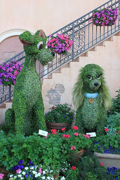 jardines bonitos con flores y plantas jardines