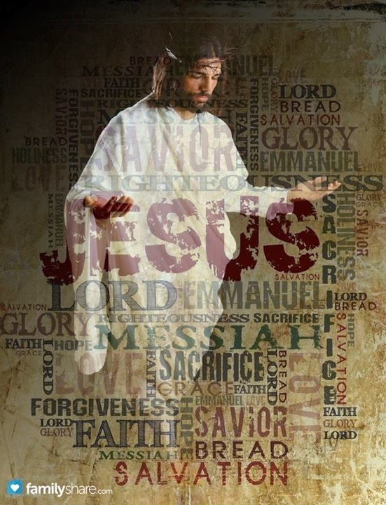 JESUS my Saviour.