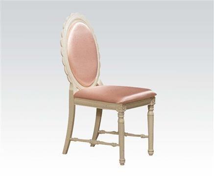 Doll House Cream Wood Chair