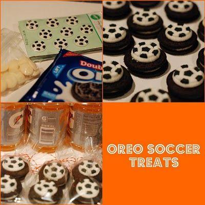 Oreo Soccer Treats