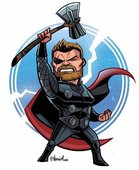Avengers Your Saviour Is Here Com Imagens Personagens Chibi