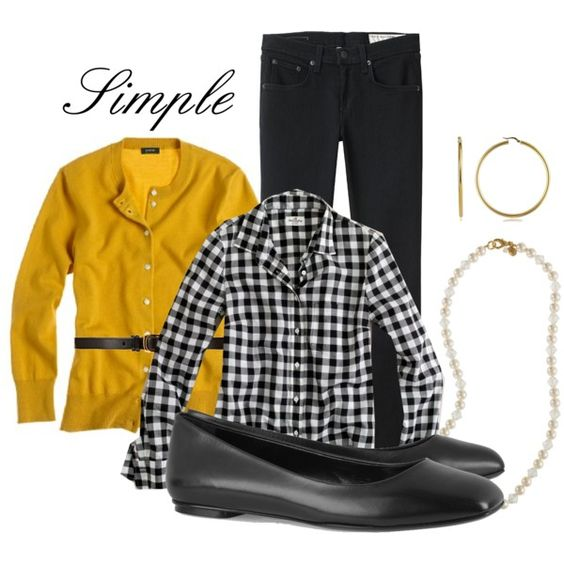 Simple and Love Plaid and Mustard
