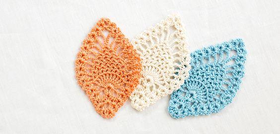 パイナップル編みのコースター | 編み物キット販売・編み方ワークショップ|イトコバコ