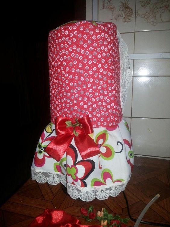 vestido de juguera | fundas para licuadora | Pinterest