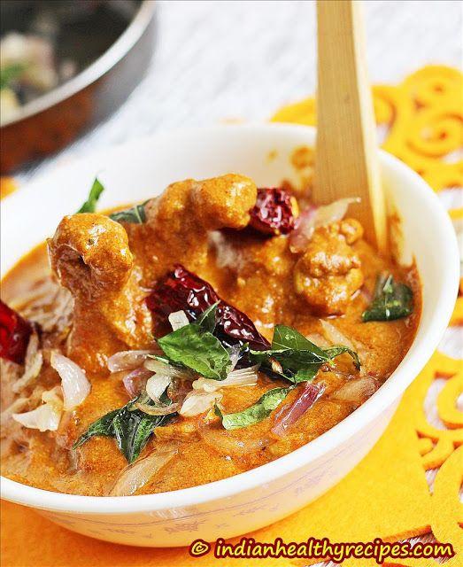 Nadan Chicken Curry   Nadan Kozhi Curry   Indian Healthy Recipes