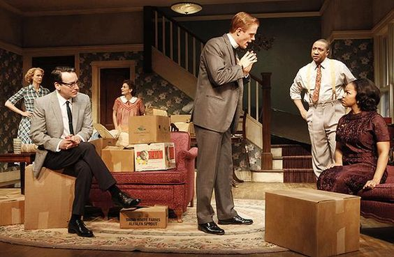 """Opening night tonight for Broadway's """"Clybourne Park."""": Plays I Ve, Set Design, 12,  2012, Theatre Conferences, Play Broadway, America S Theatres, Broadway S Clybourne"""