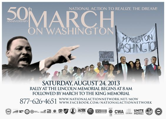 The planned March on Washington, 2013 | Abagond