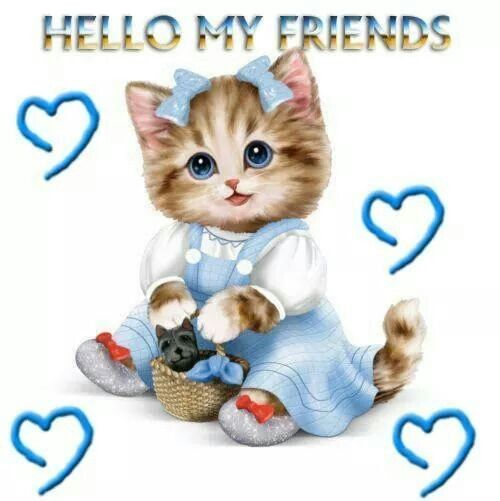 Hello My Friend Graphics | Hello My Friends... Pictures, Photos, and Images for Facebook, Tumblr ...