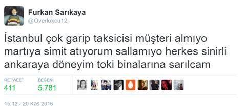 Geçen Ankara sevdalılarına laf çakılmıştı aha bu da İstanbul.  Sırada İzmir... https://t.co/FX7zZPRewI https://t.co/brL7d3Bkgg