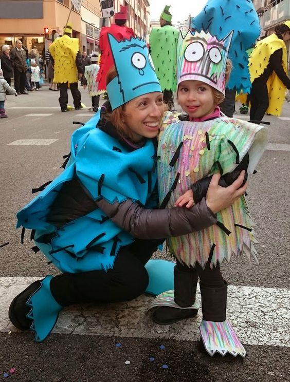"""Carnaval Disfresses """"El Monstre de Colors"""" de l'Escola Camins de Banyoles."""
