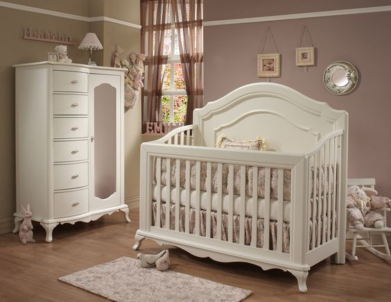 Natart Paris Collection in Linen finish - Natart is a Greenguard Certified manufacturer, Low VOC cribs & furniture - 100% solid wood construction - Made in Canada | Baby & Nursery Furniture | Great Beginnings - America's Largest Baby & Children's Store - facebook.com/greatbeginnings