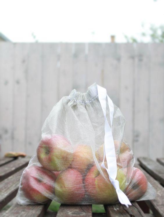 DIY: reusable grocery bag
