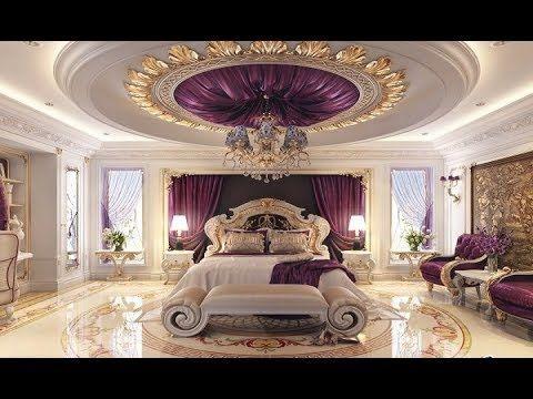 Top 150 Pop False Ceiling Designs For Living Room Bedroom 2018 Catalogue Youtube Luxurious Bedrooms Luxury Bedroom Master Purple Bedroom Design