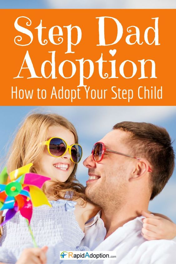 Step-dad adoption is easy! If you or your spouse want to adopt a step-child brought into the marriage & become the legal parent, we can help. Go to http://www.rapidadoption.com/