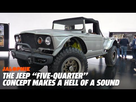 Jeep Gladiator M 715 Five Quarter Concept With A 700 Hp