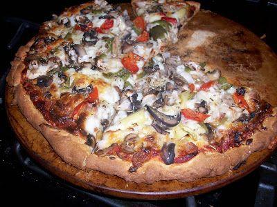 Yeast Rising Gluten-Free Pizza Crust