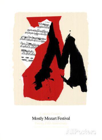 Mostly Mozart Festival Siebdruck