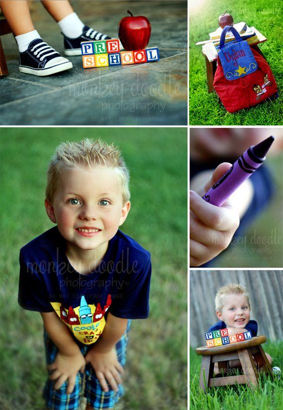 Monkey Doodle Photography: Monkey Doodle Photography ~ Katy, TX ~ Dylan - Back to Preschool session!
