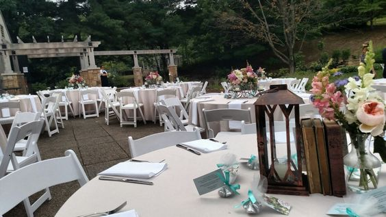 Pittsburgh Botanic Garden - outdoor plaza