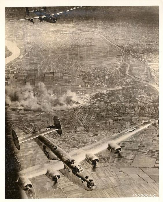 Consolidated B-24 Liberators