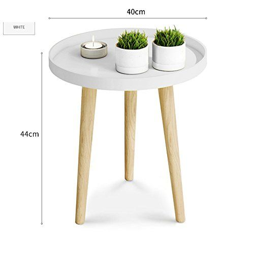 Yd Tables Small Round Table Coffee Table Bedroom Bed Head Table Mini Corner Table Balcony Coffee Table Sofa Side Table Sofa Side Table Corner Table Tray Table