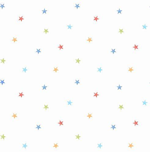 Fun4walls Ditsy - Papel pintado, diseño de estrellas Fun4…