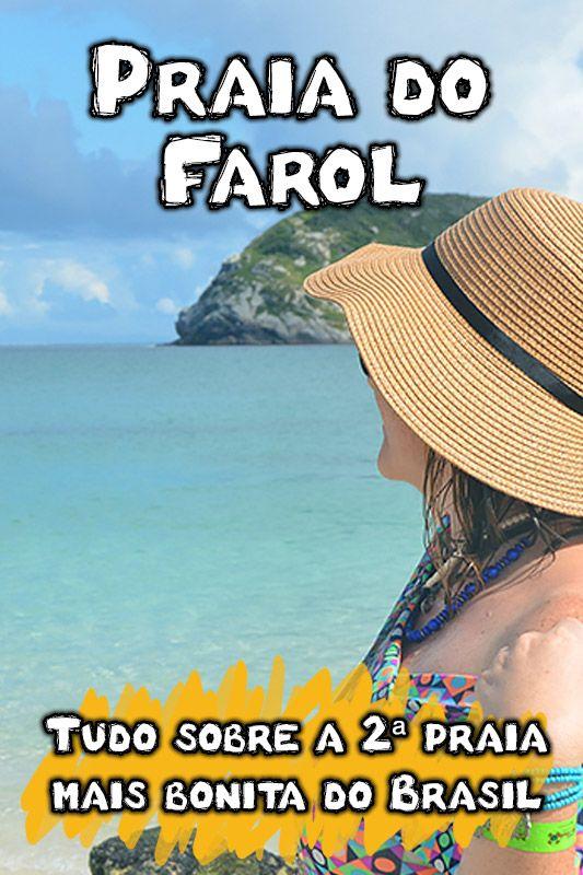 Praia Do Farol Em Arraial Do Cabo 2ª Praia Mais Bonita Do Brasil