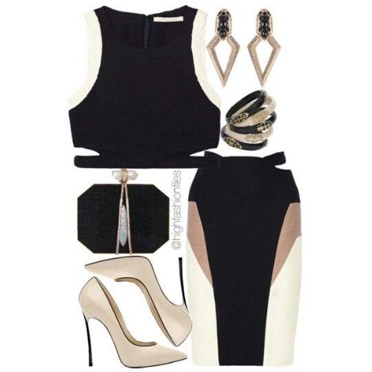 Classy Black x beige