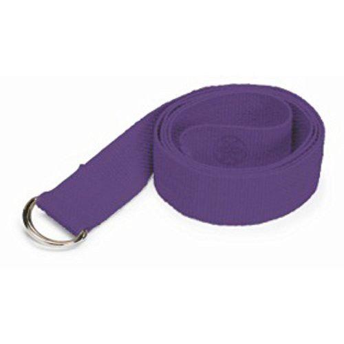 Gaiam Yoga Strap 8 Purple Yoga Strap Yoga Purple