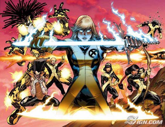 Adam Kubert - New Mutants
